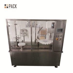 Mesin Pengisi Dan Penutup Jar Krim Lotion 10g-100g Untuk Industri Kosmetik