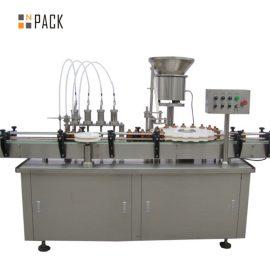 5-100ML Vacuum Perfume Filling And Capping Machine Kapasiti Besar Dengan Placer Valve