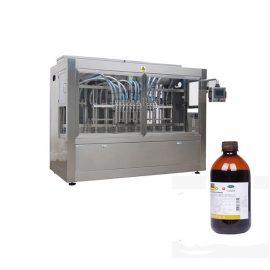 Agrochemica Botol Mengisi Talian / Line Pengisian Pestisida Cecair Berkelajuan Tinggi