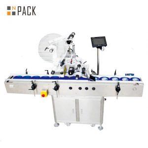 Electric Plane Self Adhesive Labeling Machine, Carton / Can / Bag Labeling Machine