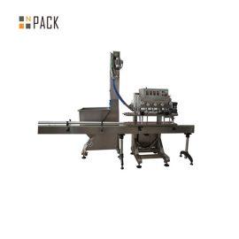 PLC Kawalan Single Head Rotary Capping Machine 50 Kelajuan CPM Dengan Servo Motor Driven
