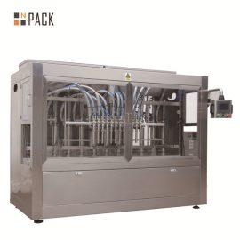 Mesin Pengisian Liquid Foaming Awet Tinggi yang Tinggi Linear Jenis 12 Kepala Untuk Botol PET