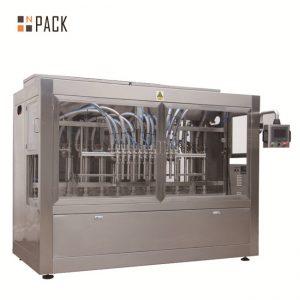 Mesin pengisian servis omboh / mesin pengisian linear sepenuhnya automatik dengan sistem drop down