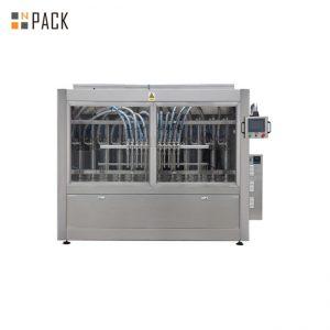 PLC Kawalan Automatik Tampalkan Mesin Pengisian Untuk Sabun / Lotion / Syampu 250ml-5L