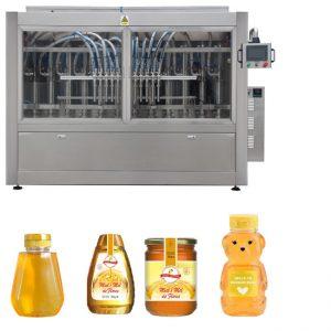 PLC Kawalan Honey Jar Mengisi Talian Talian Pengisian Liquid Automatik GMP Standard