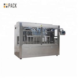 Face Cream Jar Filling Line / Paste Line Filling Machine Piston With Touch Screen Control