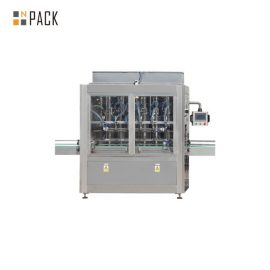 1L-5L Mengisi Minyak Mengisi Talian Dengan Servo Mengisi Mesin, Mesin Pengecut Wrapper Lengan