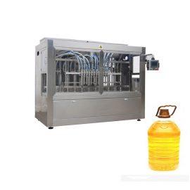 10 Nozzles Minyak Mesin Pengisian Minyak, Alat Minyak Botol Minyak Sayuran 0.5-5L 3000 B / H