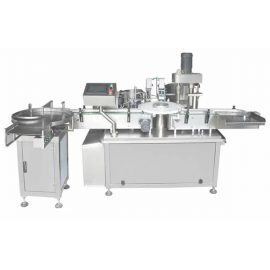 Mesin Pengisi Botol Kaca / Plastik Automatik Penuh Dan Mesin Penutup 3ml-120ml