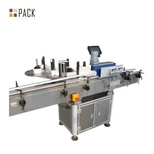 Mesin Pengecutan Lengan automatik penuh untuk Botol Tin Kapasiti 100-350 BPM