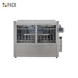 Turnkey Automatic Linear 2 to 24 Heads Botol Tomato Paste Liquid Filling Machine