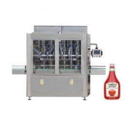 Mesin Pengisian Cendawan dan Minyak Zaitun dengan Jenis Piston
