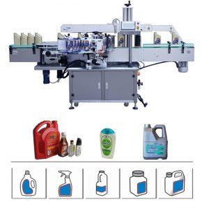 Round / Flat / Square Bottle Labeling Machine, Servo Driven Double Side Labeling Machine